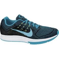 Nike Air Zoom Structure 18 Mens Blue Lagoon/Clrwtr-Blk-Flsh Running Shoe - intl