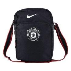 Nike Allegiance Manchester United Small Tas Selempang Pria Ba4748 001 Hitam Asli