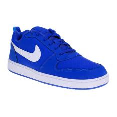 Jual Nike Court Borough Low Men S Running Shoes Game Royal White Branded Original