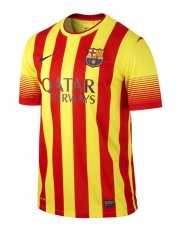 Ni ke Kaos Jersey Barcelona - 532823-703 - Kuning merah