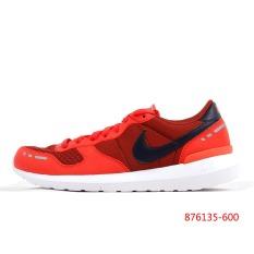 Nike Sepatu Pria Kebugaran Sepatu Running Musim Panas Kasual Ukir (Putih/putih)