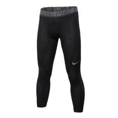 Nike Ketat Bernapas Berjalan Kebugaran Celana Celana Celana Panjang (828164-010)