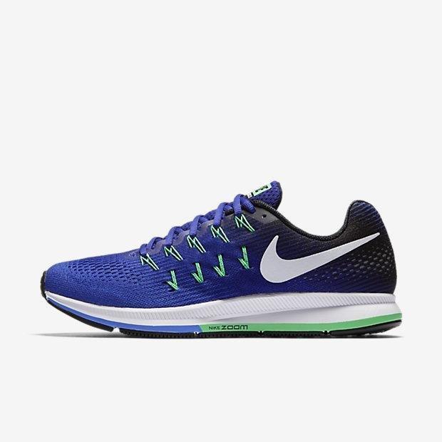 Jual Nike Men Air Zoom Pegasus 33 Menjalankan Sepatu Medium Blue 831352 404 Us7 11 01 Intl Di Bawah Harga