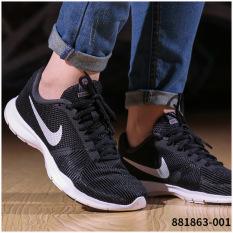 Nike Musim Gugur Hitam Dan Putih Sepatu Sneakers Sepatu Wanita (Dingin abu-abu/hitam/silver hitam/putih)