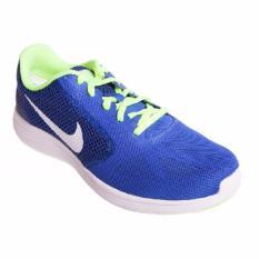 Nike Revolution 3 819300403-Sepatu lari/running pria-Blue/Volt