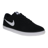 Harga Nike Sb Check Solar Canvas Men S Skateboarding Shoes Black White Yang Murah Dan Bagus