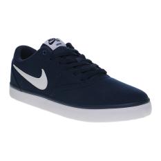 Spesifikasi Nike Sb Check Solar Canvas Men S Skateboarding Shoes Midnight Navy White