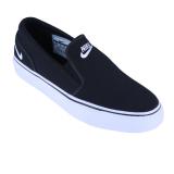 Review Nike Womens Toki Slip Canvas Sepatu Sneakers Black White Nike