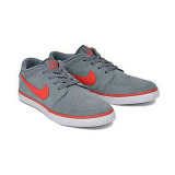 Nikesuketo2Leather Sneakers Grey Red Asli