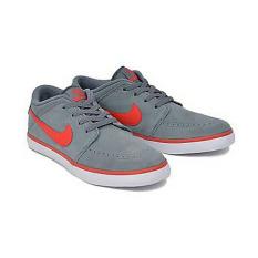 Harga Nikesuketo2Leather Sneakers Grey Red Original