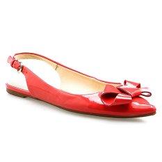 Spesifikasi Nine West Niwkiliannac2A Sepatu Flat Pink Oranye Nine West Terbaru