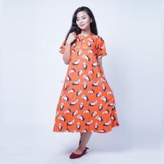Ning Ayu Baju Hamil Daster Modis Payung Batik Cap Pinguin - DS 432 / Baju Hamil dan Menyusui/ Baju Ibu Menyusui / Baju Ibu Menyusui Lengan Panjang / Baju Gamis Ibu Menyusui / Baju Daster Ibu Menyusui / Baju Wanita Menyusui