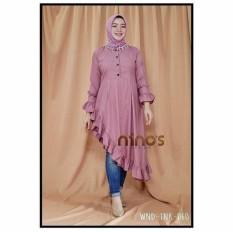 Baju wanita/Blouse/Kemeja Wanita/Jumpsuit/Playsuit Wanita/Baju Atasan/long dress/Dress Wanita/Baju Muslim/Jumpsuit/Sweater&Cardigan Wanita/Baju Tidur/baju Santai/Tunik/Rajut Waanita/baju murah/celana wanita-murah/fashion wanita/NINOS BLOUSE DUSTY