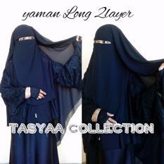 Niqab cadar yaman long 2 layer