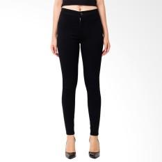 NJ Nuriel Jeans Celana Jeans wanita Terbaru Good Quality High Waist skinny Hitam