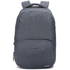NNC 170303 NNC Multifungsi Shoulder Bag Pria & Pria Universal Komputer Backpack USB Charger Backpack Grey-Intl