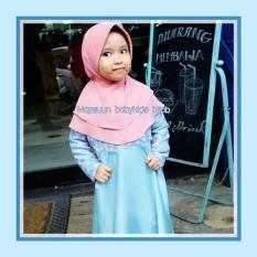 NO WA : O81233176O35, Gamis Pesta Anak Bahan Brokat, Baju Muslim Pesta Anak Perempuan