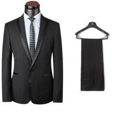 Toko Noblecloth Setelan Jas Pria Setelan Jas Formal Men Suit Blazer Black Termurah