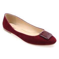 Noche Shoes Ballet Arlene - Dark Purple
