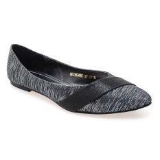 Diskon Besarnoche Shoes Ballet Edith Hitam