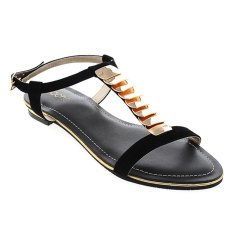 Harga Noche Shoes Flat Ann Hitam Terbaik