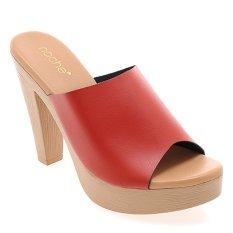 Toko Noche Shoes Heel Carmita Merah Noche Indonesia