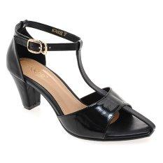 Promo Noche Shoes Heel Charlotte Hitam Akhir Tahun