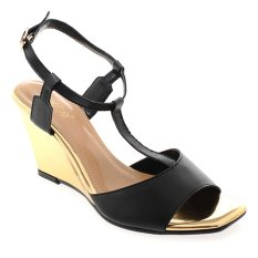 Noche Shoes Wedge Corey - Hitam