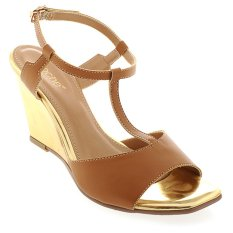 Noche Shoes Wedge Corey - Tan