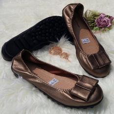 Jual Nolly Arfiandi Flat Casual Bp05 Tan Branded Original