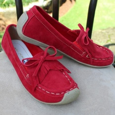 Harga Hemat Nolly Arfiandi Flat Casual Us103 Red