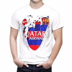 Review Nsclothing Kaos 3D Barcelona Robek Putih Nsclothing Di Banten