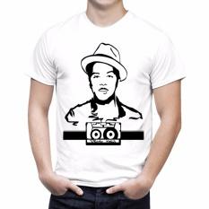 NSClothing Kaos 3D Bruno Mars Putih