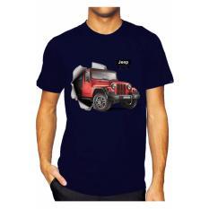 Promo Nsclothing Kaos 3D Mobil Jeep Grow Navy