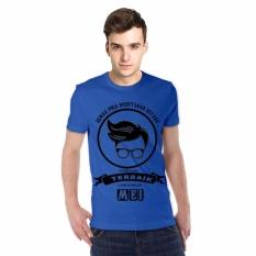 NSClothing Kaos 3D Semua Pria Diciptakan Setara Tapi Yang terbaik lahir di bulan Mei Dark Biru