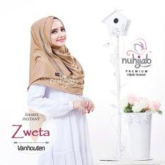 Toko Nuhijab Shawl Instan Hijab Instan Khimar Jilbab Instan Zweta Vanhouten Nuhijab