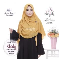 KHIMAR HIJAB SYARI NUHIJAB SHIRLY - GOLDEN YELLOW