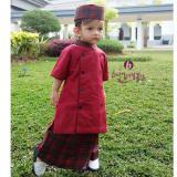 Beli Nuranitex Baju Koko Celana Sarung Salman Anak Marun Online Jawa Barat