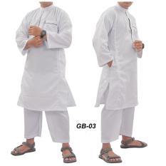 Jual Nuranitex Gamis Muslim Ikhwan Elegan Gb03 Ori