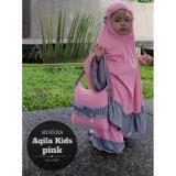 Daftar Harga Nuranitex Mukena Anak Aqila Premium Pink Nuranitex Busana Muslim