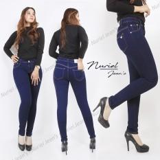 Nuriel Jeans - Celana Jeans Wanita – Premium Quality – Skinny – Navy 27-34