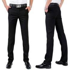 Celana Bahan Pria Formal Kantoran Pria Katun Berkualitas Restleting Kuat Jahitan Rapi Murah Celana Bahan Reguler Fit