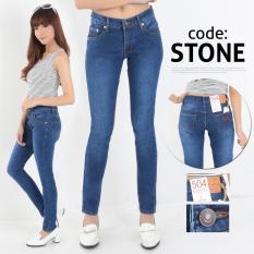 Jual Nusantara Jeans Celana Jeans Panjang Wanita Model Skinny Berbahan Soft Jeans Ripped Resleting Kuat Jahitan Rapi Murah Nusantara Jeans1 Branded