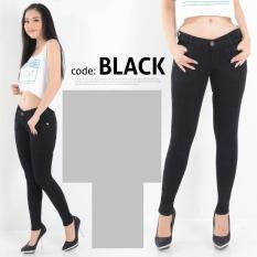 Beli Nusantara Jeans Celana Wanita Skinny Street Berbahan Soft Jeans Bagus Murah Jahitan Rapi Hitam Murah Di Dki Jakarta