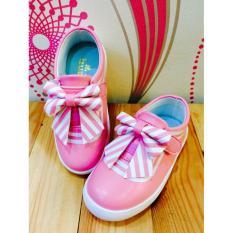 Jual Nvt Collection Sneaker Import Anak Perempuan 058 Pink Branded Murah