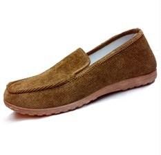 Nyaman dan bernapas lembut bawah karet lembut bawah sepatu Beijing sepatu kain bekas ((Nagamine) beige)