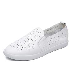 O'connell Model Crocs Musim Semi Baru Putaran Sepatu Sepatu Wanita (Putih 172332002)