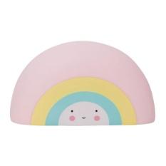 Oanda Pawaca Kreatif Cute Rainbow Kotak Uang untuk Anak-anak, Sempurna Piggy Bank Hadiah untuk Anak Perempuan, Ornamen Dekorasi untuk Anak-anak Anak-anak Ruang-Intl