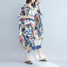 Jual Beli Gaun Katun Linen Wanita Ukuran Besar Gambar Warna Gambar Warna