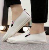 Harga Ocean Buatan Pu Sepatu Slip Ons Loafers Sepatu Lembut Sole Sepatu Tunggal Trend Ventilasi Sepatu Rendah Putih Intl Asli Oem